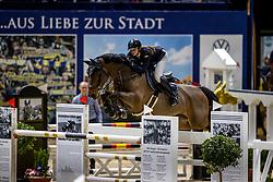 RHOMBERG Katharina (AUT), Careless <br /> Grand Prix von Volkswagen<br /> Int. jumping competition over two rounds (1.55 m) - CSI3*<br /> Comp. counts for the LONGINES Rankings<br /> Braunschweig - Classico 2020<br /> 08. März 2020<br /> © www.sportfotos-lafrentz.de/Stefan Lafrentz