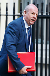 © Licensed to London News Pictures. 17/01/2017. London, UK. Work and Pensions Secretary DAMIAN GREEN attends a cabinet meeting in Downing Street on Tuesday, 17 January 2017 before Prime Minister Theresa May's Brexit plan speech. Photo credit: Tolga Akmen/LNP