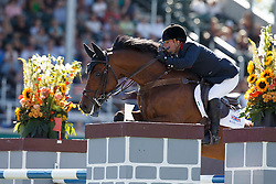 Whitaker Robert, (GBR), Catwalk IV<br /> BMO Nations Cup<br /> Spruce Meadows Masters - Calgary 2015<br /> © Hippo Foto - Dirk Caremans<br /> 12/09/15