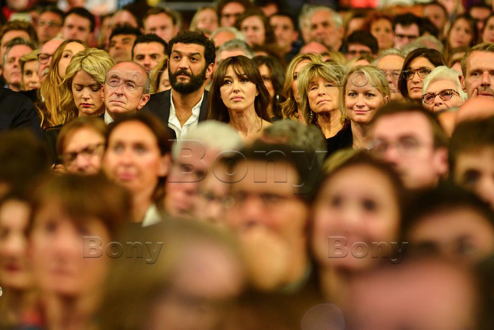 Monica Bellucci - Ramzi Bedia<br /> Lyon 8 oct 2016 - Festival Lumi&egrave;re 2016 - C&eacute;r&eacute;monie d&rsquo;Ouverture<br /> 8th Film Festival Lumiere In Lyon : Opening Ceremony