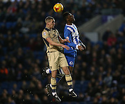 Rohan Ince, Brighton midfielder during the Sky Bet Championship match between Brighton and Hove Albion and Leeds United at the American Express Community Stadium, Brighton and Hove, England on 24 February 2015.