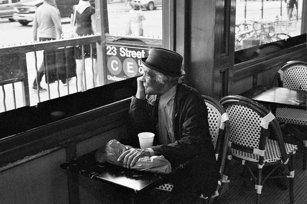 23rd Street cafe, New York City