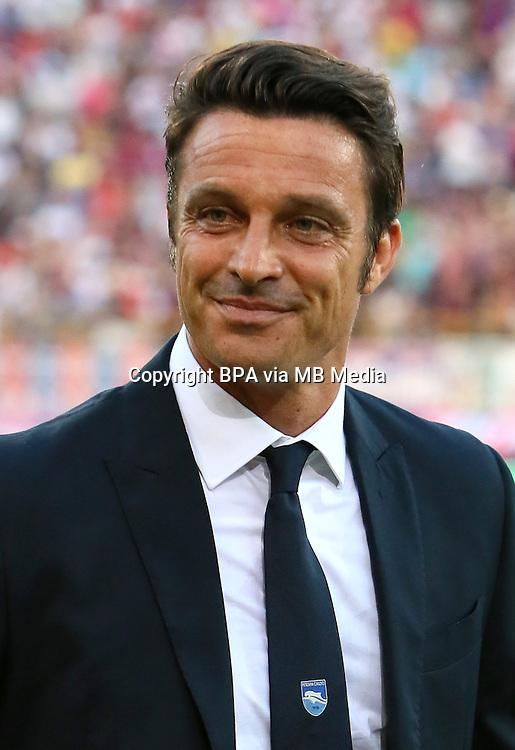 Italian League Serie A -2016-2017 / <br /> ( Delfino Pescara Calcio 1936 ) - <br /> Massimo Oddo - DT Pescara Calcio 1936