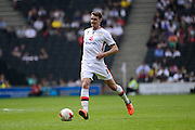 MK Dons midfielder Darren Potter during the Sky Bet Championship match between Milton Keynes Dons and Nottingham Forest at stadium:mk, Milton Keynes, England on 7 May 2016. Photo by Dennis Goodwin.