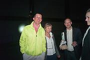 ANTONY GORMLEY; VICKEN PARSONS; DARIEN LEADER;, The Tanks at Tate Modern, opening. Tate Modern, Bankside, London, 16 July 2012