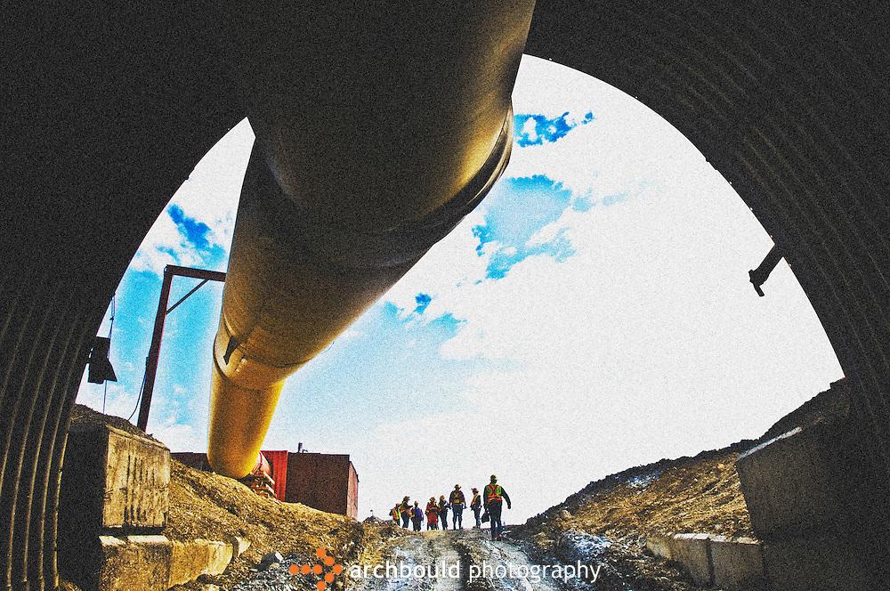 Yukon, mining, underground, Minto Mine, Wolverine, iron ore, gold, equipment
