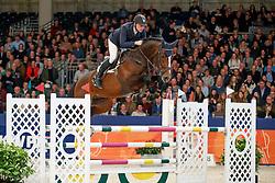 De Boer Lennard, NED, Grand Slam VDL<br /> KWPN Stallionshow - 's Hertogenbosch 2018<br /> © Hippo Foto - Dirk Caremans<br /> 01/02/2018