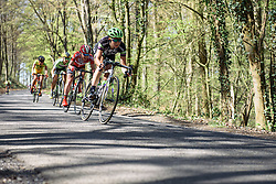 Molly Weaver (Liv Plantur) - Flèche Wallonne Femmes - a 137km road race from starting and finishing in Huy on April 20, 2016 in Liege, Belgium.