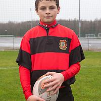 Ennis U16 Rugby Captain Tony Butler