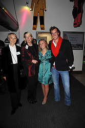 Left to right, MRS VIRGINIA HICKS, MRS YVONNE OLVER, SOPHIE OLVER and CHARLES OLVER at the premier of Tenacity on the Tasman at the Odeon Leicester Square, London on 19th November 2009.