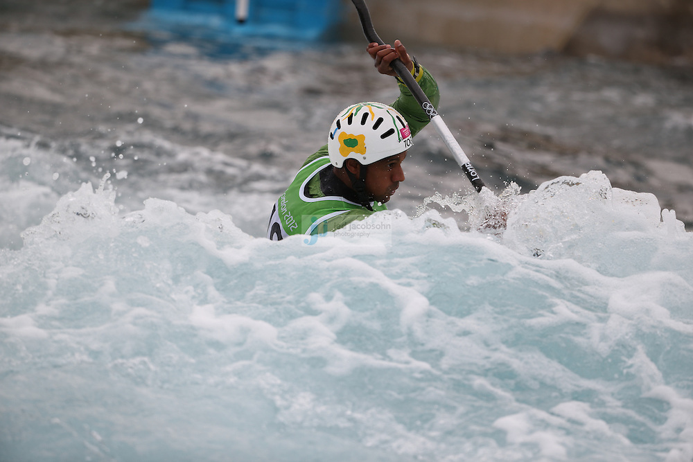 during the canoe slalom kayak single 1k event during day 5 of the London Olympic Games London, 1 Aug 2012..(Jed Jacobsohn/for The New York Times)....