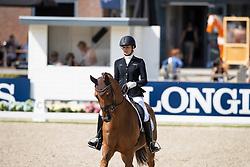 Botton Jessica Michel, FRA, Dorian Grey de Hus<br /> World ChampionshipsYoung Dressage Horses<br /> Ermelo 2018<br /> © Hippo Foto - Dirk Caremans<br /> 02/08/2018