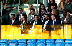 Leeds United Owner Andrea Radrizzani sits in the stands at Elland Road - Mandatory by-line: Robbie Stephenson/JMP - 09/08/2017 - FOOTBALL - Elland Road - Leeds, England - Leeds United v Port Vale - Carabao Cup