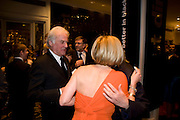 Richard Eyre; Mariella Frostrup; The London Critics' Circle Film Awards 2009 in aid of the NSNCC. Grosvenor House Hotel . Park Lane. London. 4 February 2009 *** Local Caption *** -DO NOT ARCHIVE -Copyright Photograph by Dafydd Jones. 248 Clapham Rd. London SW9 0PZ. Tel 0207 820 0771. www.dafjones.com<br /> Richard Eyre; Mariella Frostrup; The London Critics' Circle Film Awards 2009 in aid of the NSNCC. Grosvenor House Hotel . Park Lane. London. 4 February 2009