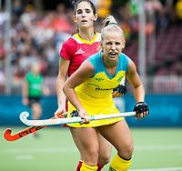 BRUSSEL - Georgia Wilson (Aus.)    during AUSTRALIA v SPAIN , Fintro Hockey World League Semi-Final (women) . COPYRIGHT KOEN SUYK