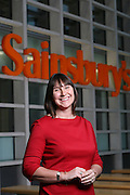 Gwyn Burr, head of PR, Sainsbury's, Holborn, London
