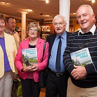 Bernadette Bohan, Anna and Tim McGillacuddy and Seamus Bohan, at the launch of Donncha O Dúlaing new book  at the Ennis Bookshop