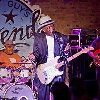 Buddy Guy plays in Chicago January, 2011 at his Buddy Guy's Legends  Blues lounge, Grammy Award winner.