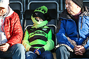 FGR fan during the EFL Sky Bet League 2 match between Forest Green Rovers and Morecambe at the New Lawn, Forest Green, United Kingdom on 17 November 2018.