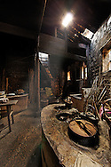 Extremely old kitchen, Hongcun, China