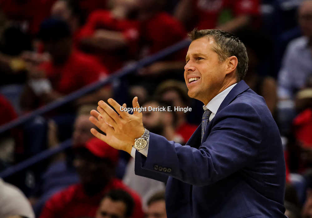 Oct 19, 2018; New Orleans, LA, USA; Sacramento Kings head coach Dave Joerger during the second half against the New Orleans Pelicans at the Smoothie King Center. The Pelicans defeated the Kings 149-129. Mandatory Credit: Derick E. Hingle-USA TODAY Sports