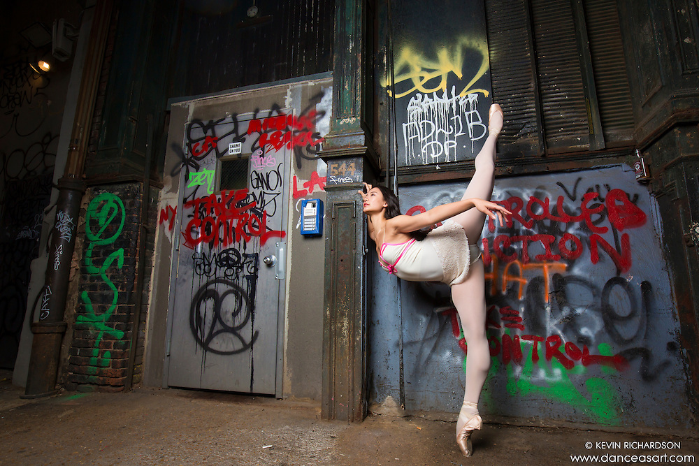 Cortlandt Alley Ballet- Dance As Art The New York City Photography Project