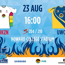 23,08,2018 UKZN Football and UWC Football