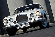 10/08/12 - ENNEZAT - PUY DE DOME - FRANCE - Essais JAGUAR MK10 de 1962 - Photo Jerome CHABANNE