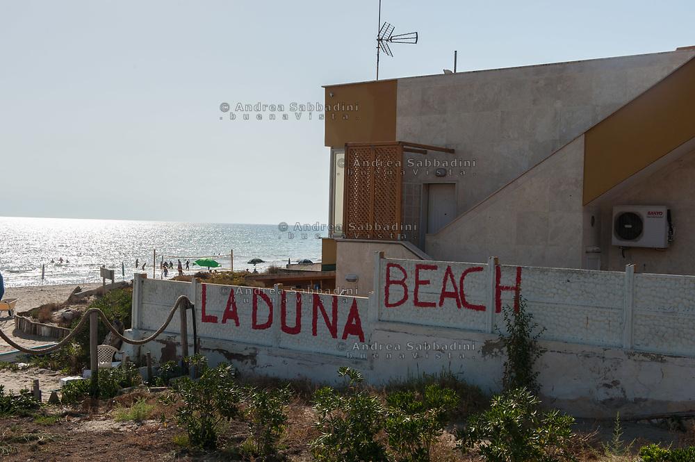 Ardea, 20/07/2017: &quot;La Duna Beach&quot;, Lungomare degli Ardeatini.<br /> &copy; Andrea Sabbadini