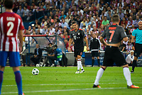 Bayern Munich's player Robert Lewandowski during match of UEFA Champions League at Vicente Calderon Stadium in Madrid. September 28, Spain. 2016. (ALTERPHOTOS/BorjaB.Hojas)
