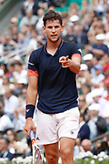 Dominic Thiem (AUT) during the Roland Garros French Tennis Open 2018, day 10, on June 5, 2018, at the Roland Garros Stadium in Paris, France - Photo Stephane Allaman / ProSportsImages / DPPI
