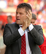 Bristol City manager Steve Cotterill during the Sky Bet League 1 match at Ashton Gate, Bristol<br /> Picture by Tom Smith/Focus Images Ltd 07545141164<br /> 06/09/2014