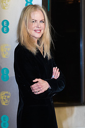 Photo Must Be Credited ©Alpha Press<br /> Nicole Kidman<br /> arrives at the EE British Academy Film Awards after party dinner at the Grosvenor House Hotel in London.