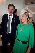 EMMA SPENCER,, Glorious Goodwood. Ladies Day. 28 July 2011. <br /> <br />  , -DO NOT ARCHIVE-© Copyright Photograph by Dafydd Jones. 248 Clapham Rd. London SW9 0PZ. Tel 0207 820 0771. www.dafjones.com.