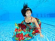 צילום בת מצווה מתחת למים