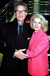 Film director BRUCE PALTROW and his wife BLYTHE DANNER <br /> parents of leading actress Gweneth Paltrow, at a film <br /> premier party in London on 14th November 2000.OJB 7