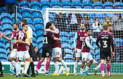 Burnley and Peterborough players greet each other at the end of the match during the The FA Cup match between Burnley and Peterborough United at Turf Moor, Burnley, England on 4 January 2020.