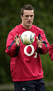 12/02/2004 Six Nations Rugby England Training- Pennyhill Park- Bagshot.Chris Jones, training with the England squard.   [Mandatory Credit, Peter Spurier/ Intersport Images].