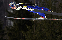 Thomas Morgenstern (AUT) at Flying Hill Team in 3rd day of 32nd World Cup Competition of FIS World Cup Ski Jumping Final in Planica, Slovenia, on March 21, 2009. (Photo by Vid Ponikvar / Sportida)