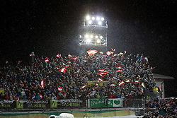 27.01.2015, Planai, Schladming, AUT, FIS Skiweltcup Alpin, Schladming, 2. Lauf, im Bild Fans // Fans during the second run of the men's slalom of Schladming FIS Ski Alpine World Cup at the Planai Course in Schladming, Austria on 2015/01/27, EXPA Pictures © 2015, PhotoCredit: EXPA/ Erwin Scheriau