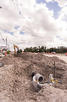 Construction image of SR 50 from Dean Road to Avalon Park Blvd by Jeffrey Sauers of Commercial Photographics, Architectural Photo Artistry in Washington DC, Virginia to Florida and PA to New England