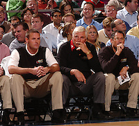 Texas Techs' Head Coach Bobby Knight during the 2K Sports Hoops Classic held at Madison Square Garden in New York, NY.