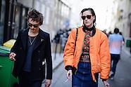 Paris - Olivier Theyskens Street Style - 27 Sep 2016
