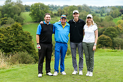 Joe Partington joins Red Bus Nursery as they take part in the Annual Bristol Rovers Golf Day - Rogan/JMP - 09/10/2017 - GOLF - Farrington Park - Bristol, England - Bristol Rovers Golf Day.