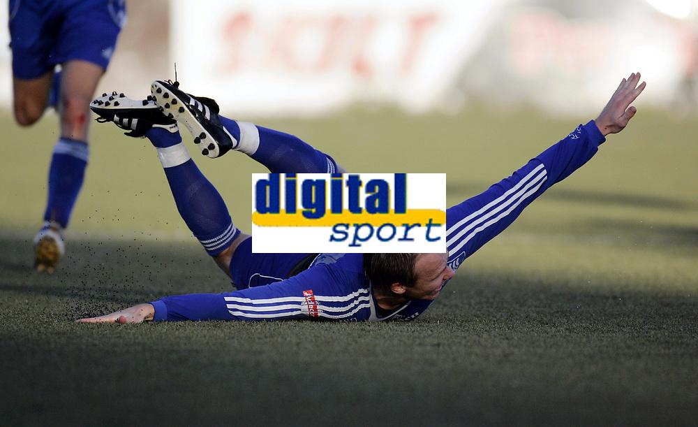 Fotball<br /> Adeccoligaen 2006<br /> 01.10.2006<br /> Pors Grenland v Bryne 2-1<br /> Foto: Morten Olsen, Digitalsport<br /> <br /> John-Erling Kleppe jubler for sitt fantastiske frispark som ga 2-1 til Pors.