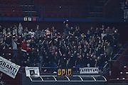 Tifo Pistoia<br /> EA7 Emporio Armani Olimpia Milano - Pasta Reggia Caserta<br /> LegaBasket 2016/2017<br /> Milano 30/10/2016<br /> Foto Ciamillo-Castoria