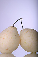 Close up of white pears