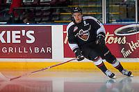 KELOWNA, CANADA - FEBRUARY 10: Tyler Popowich #13 of the Vancouver Giants skates against the Kelowna Rockets on February 10, 2017 at Prospera Place in Kelowna, British Columbia, Canada.  (Photo by Marissa Baecker/Shoot the Breeze)  *** Local Caption ***