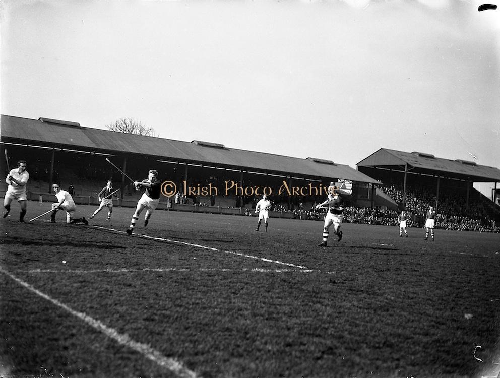 18/03/1956<br /> 03/18/1956<br /> 18 March 1956<br /> Ireland v Combined Universities at Croke Park, Dublin.