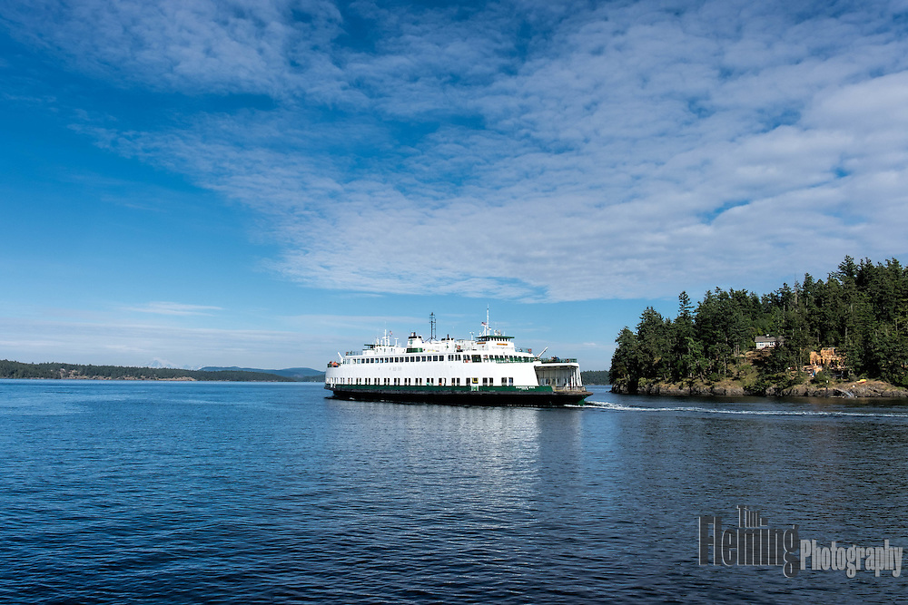 The Washington State Ferry service runs ten routes serving 20 terminals located around Puget Sound and in the San Juan Islands.